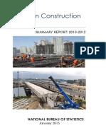 Nbs Nigerian Construction Report 2010_2012