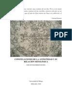 MORENO, J. _Constelaciones de La Antigüedad y Su relación con la mitología