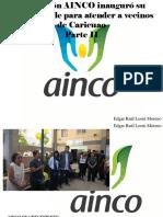 Edgar Raul Leoni Moreno - Fundación AINCO Inauguró Su Primera Sede Para Atender a Vecinos deCaricuao, Parte II