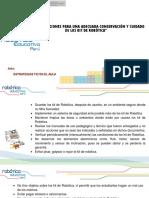 3 Conservación y Mantenimiento de Kit de ROBÓTICA