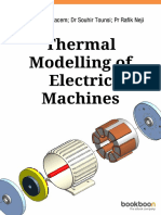 Thermal Modelling of Electric Machines