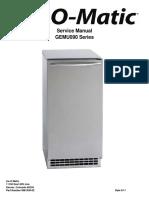 GEMU090 Iceomatic Service Manual