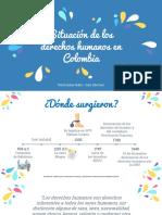 Situación de los Derechos Humanos en Colombia