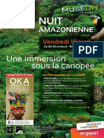 Communiqué Nuit Amazonienne Museum Toulouse
