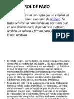 ROL DE PAGO