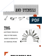 Tools and Utensils