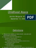Childhood Ataxia