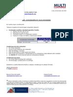 19.01.p3102035 International Inspecting Agency Sac (Standard de 40')