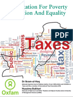 Fair Taxation for Poverty by Dr. Ikram