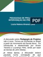 Pedagogia de Projetos_lucia Leite