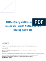 h15523 Adme Configuration Steps and Screenshots With Networker as Backup Software