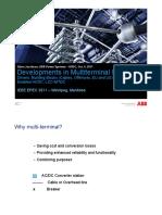 Developments in Multiterminal HVDC
