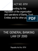 General Banking Laws