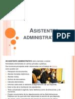 asistentes administrativos
