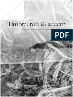 Timbre, Ton & Accent