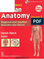 Chaurasia's Human Anatomy Head, Neck and Brain, 6e - Bhagwan Din Chaurasia.pdf