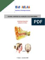 Biologia - Órgãos - Sentidos - Ouvido Audição Equilíbrio Demo