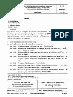 NBR 05001 - Chapas Grossas de Aço-carbono p Vasos de Pressão - Temperatura Baixa