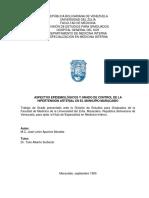 Aspectos epidemiológicos de la Hipertensión Arterial en el Municipio Maracaibo del Estado Zulia, Venezuela