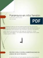 Pararrayos en Alta Tensión.pptx