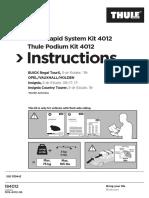 thule instruction