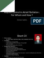 SYMPO6 1. Dr. Simon - Rhythm Control in Atrial Fibrilation