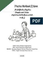 Preschool Practice Workbook 2 Kar