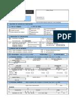 Formulario Unico de Edificacion FUE (2COPIAS)