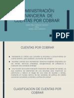 Administración financiera  de cuentas por cobrar.pptx