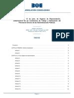 F Organos de Represent Funcionarios Ley 9-1987 12 Junio