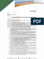 015-19_Distritos Sobre La Ley de Organizaciones Religiosas Enviada Por Evo Morales Al Parlamento
