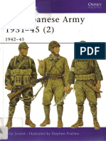 Osprey Men-At-Arms the Japanese Army 1931-1945-Vol 2 1942-45 (2002)