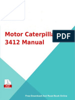 Motor Caterpillar 3412 Manual