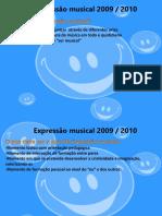 formação expressão musical