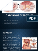 Carcinoma de Prostata Exposicion