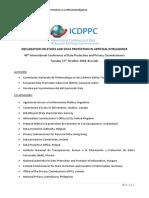 Icdppc-40th Ai-Declaration Adopted en 0