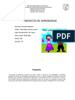 Proyecto de Aprendizaje 2do Grado Yusmary (1)
