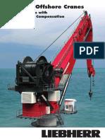 Liebherr Subsea Offshore Cranes RL-K AHC Active Heave Compensation Brochure 12904-0