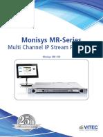 Vitec Monisys MR Series