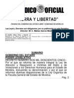 Ley de Victimas Morelos 2017