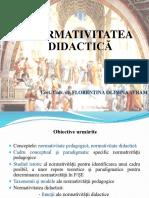 normativitatea didactica pptx