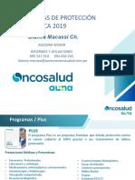 Presentacion Planes Oncosalud - 2019 Asesoras