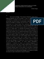 Sobre Biohermeneutica y Salud