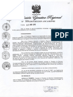 Directiva de Normas complementarias de proyectos de Inversión GRA