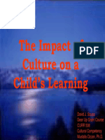 Culture and Its Role in Child Learning