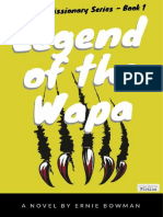 SAMPLE -- Legend of the Wapa - Ernie Bowman - Cruciform Fiction
