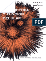 Estructura y Función Celular - Loewy & Siekevitz