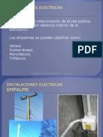 INSTALACIONES ELECTRICAS empalme