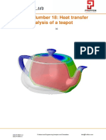 Free Abaqus Tutorial for Heat Transfer Analysis of a Teapot