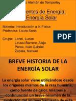 Dpto CsExactas Y Naturales La Energia Solar 4to